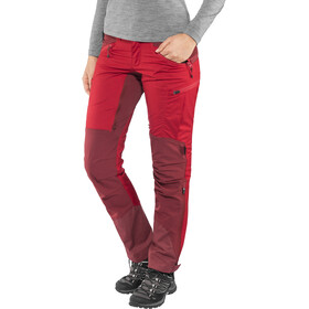 Lundhags Makke Pants Dame red/dark red